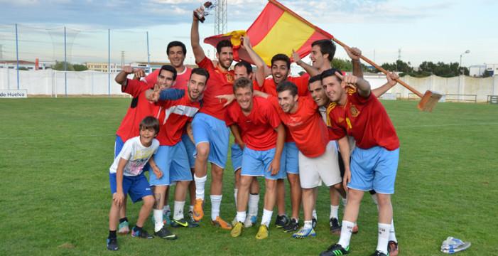 El equipo de España se alza con el triunfo en el Mundialito de Fútbol 7 celebrado en Palos de la Frontera