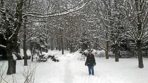 Ostrava, en invierno.