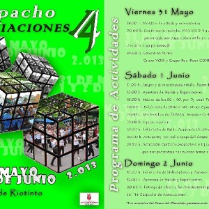 Programa de actividades del 'Gazpacho de Asociaciones'.
