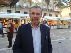 El presidente de la Asociación de la Prensa de Huelva, Rafael J. Terán.