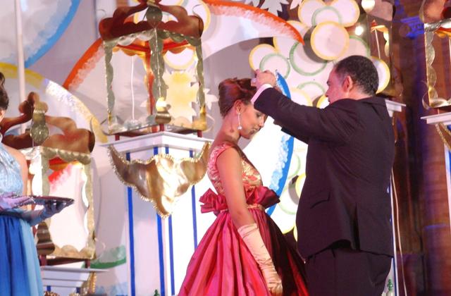 Coronación de la reina 2012.