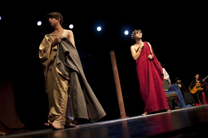 Una representación de Tiflonuba en 2012.