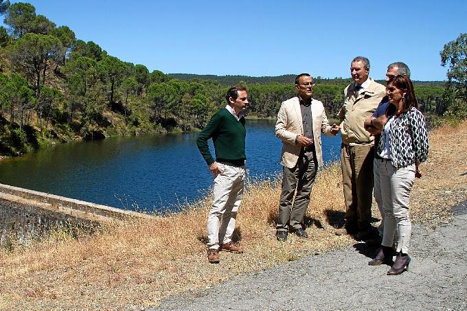 Un momento de la visita realizada a la finca El Calabazar.