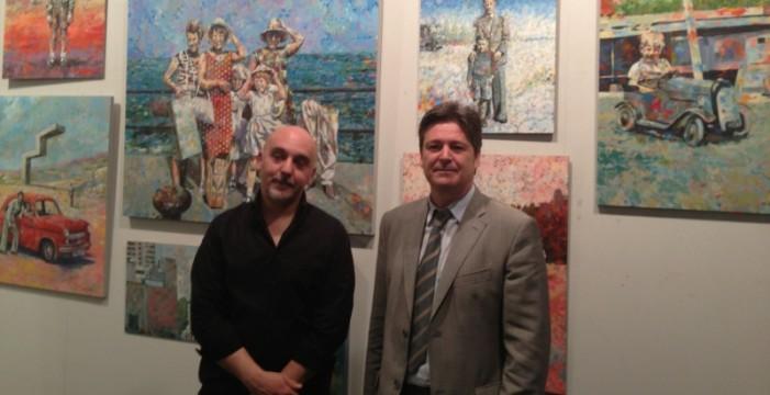 Amador García expone en el Centro Cultural de la Fundación Caja Rural del Sur