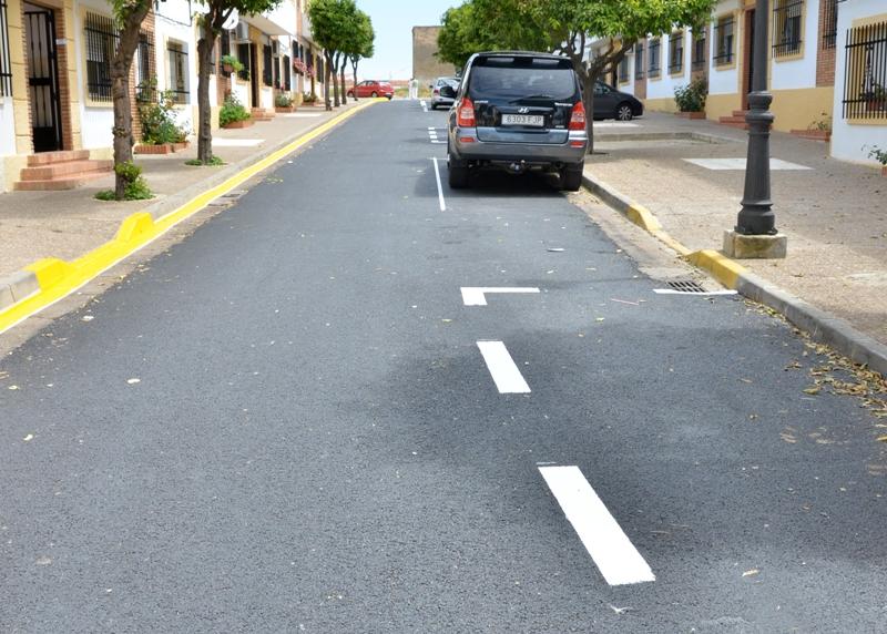Palos lleva a cabo mejoras urbanísticas en la barriada Rio Gulf