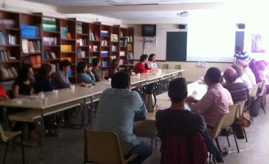 Finaliza el Ciclo de charlas-coloquio del colegio Marista para educar en valores