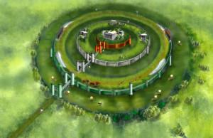 Círculos descritos por Platón. / Foto: planetaciencia.es.