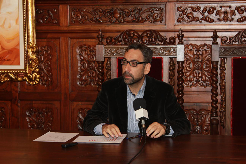 El alcalde de Ayamonte, Antonio Rodríguez.