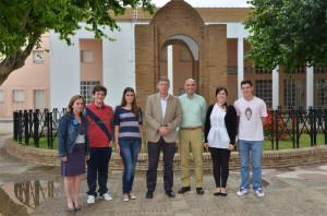 Los jóvenes palermos que tienen mejores expedientes educativos de secundaria del Instituto Carabelas.