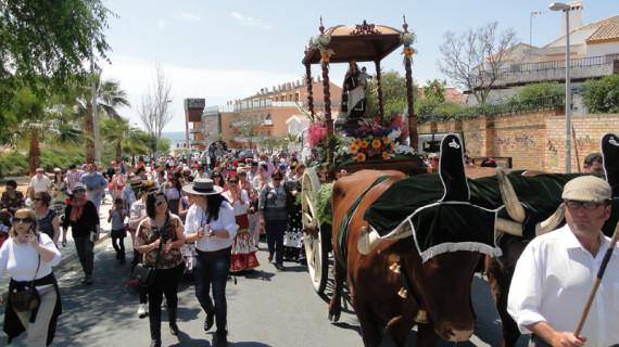 Mazagón vibró este fin de semana en la romería del Carmen