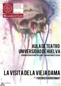 Cartel de la obra de teatro 'La visita de la vieja dama'