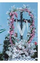 Otra Cruz de Mayo de Huelva.