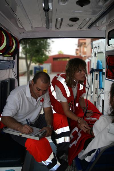 Cruz Roja está presente en los dispositivos de varias romerías de la provincia.