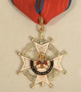Imagen de una Cruz idéntica a la recibida por Dolores Bejarano.