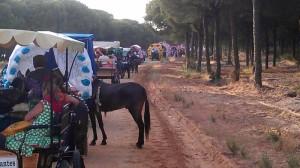 Emigrantes, en el Camino hacia El Rocío.