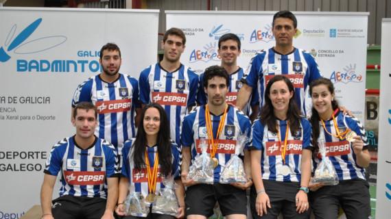 El Recreativo IES La Orden conquista cinco medallas de oro en el Campeonato de España de Bádminton