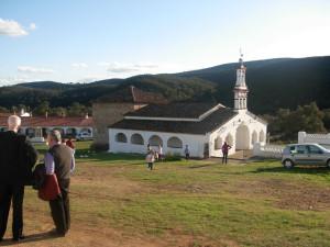 La ermita se encuentra en el paraje conocido como Dehesa de la Agüijuela. / Foto: asociacionsantaeulaliamerida.blogspot.com.es