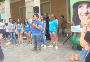 Casi 600 estudiantes han participado en la Feria.
