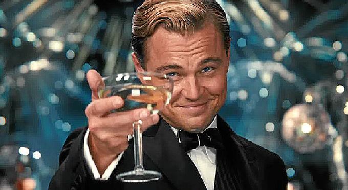 Leonardo di Caprio en una escena de la película.