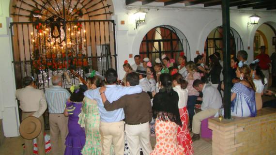 La Hermandad del Rocío de Valverde del Camino realizará por primera vez su entrada en la aldea almonteña por el polígono Merco y el camino de la Virgen