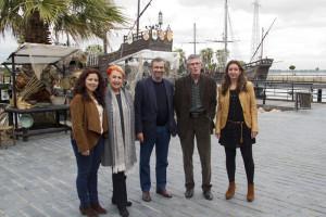Miembros del jurado del Premio Huelva de Periodismo.