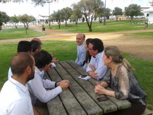 Reunión del Plan Romero en Lepe.