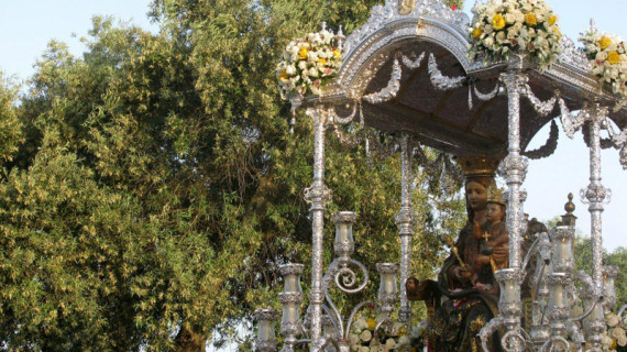 Lepe ultima los preparativos del recinto romero para la Romería de la Bella