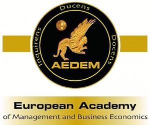 Logotipo de la Academia Europea de Dirección y Economía de la Empresa.