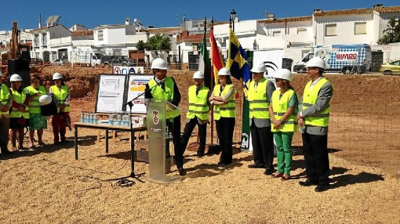 Comienzan las obras de construcción del nuevo colegio público 'Pedro Alonso Niño' de Moguer
