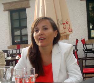 Noemí Sanchís, decana del Colegio de Arquitectos de Huelva.