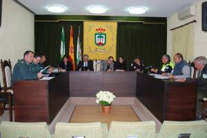 Reunión sobre el Plan Romero en Hinojos.