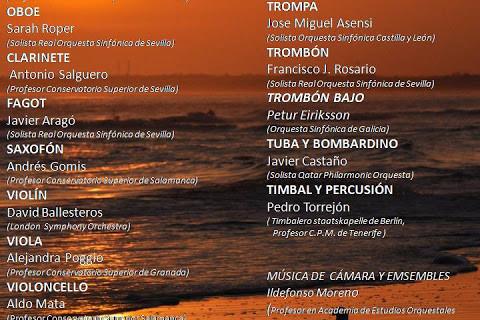 Abierto el plazo de inscripción a los Cursos de Perfeccionamiento Musical de la Escuela Municipal de Punta Umbría