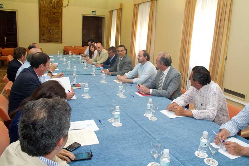 Reunión de la campaña 'Que sea de Huelva'.