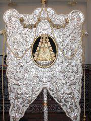 Imagen del Simpecado de Trigueros.