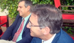 Juan José García del Hoyo y Francisco Ruiz.