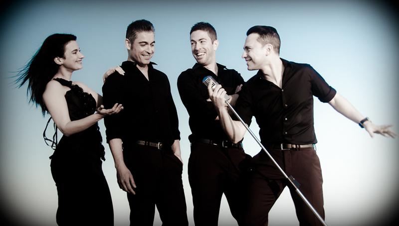 Gema, Carlos, Benito y Antonio son los componentes de The Dreamers.