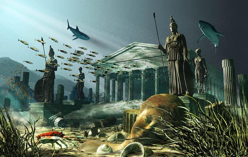 Resultado de imagen de La Atlántida sumergida