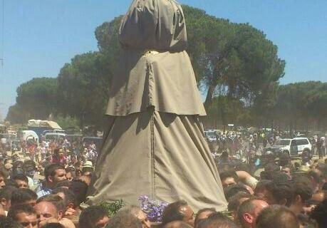 El traslado de la Virgen desde Almonte al Rocío no registró incidencias graves