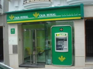 Una de las casi trescientas oficinas de la Caja Rural del Sur