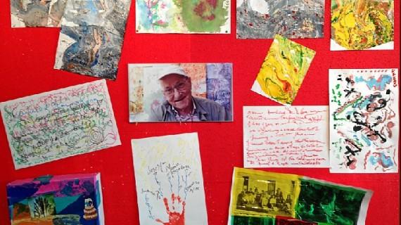 La exposición de arteterapia 'Los mayores también pintamos', hasta el 3 de julio en San Juan del Puerto