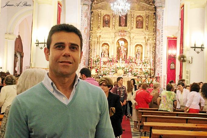 Antonio Arillo transmitirá el amor hacia el pueblo y sus gentes. / Foto: Juan Antonio Ruiz.