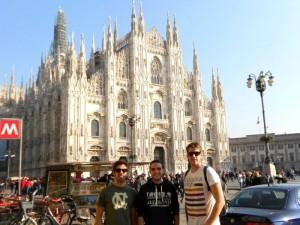Milán es una ciudad con encanto, según comenta este onubense.