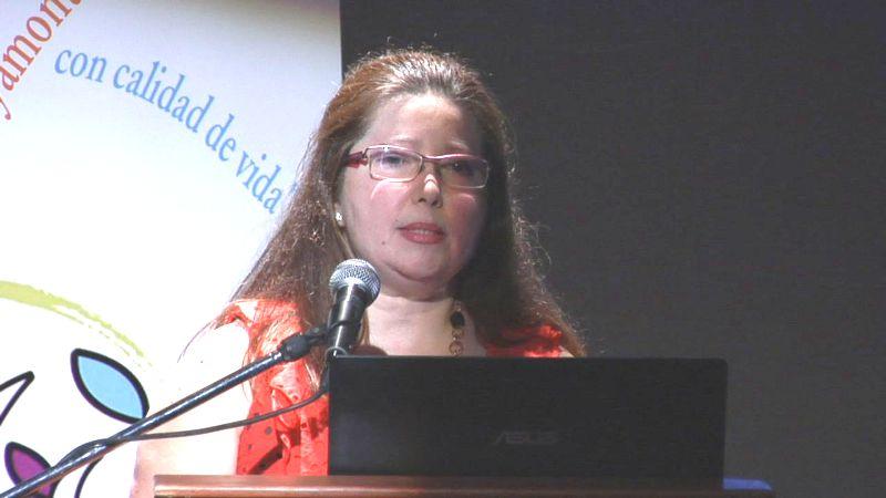 La doctora del Hospital Juan Ramón Jiménez, Carmen Suárez.