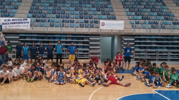 Casi mil personas presenciaron en el Palacio de Deportes el I Torneo Alevín 'Ciudad de Huelva' de baloncesto