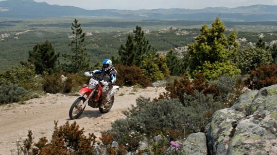 El valverdeño Luis Calderay cumple con su objetivo de acabar el Rally de Cerdeña