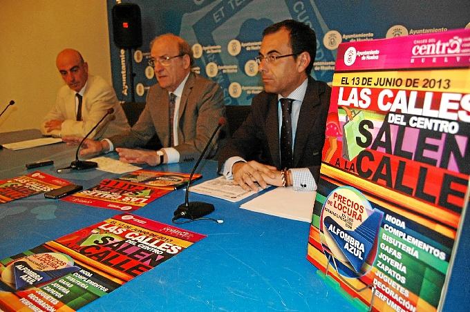 Acto de presentación de la campaña de los comercios.