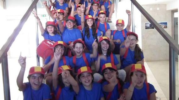Un total de 40 niños participan en el Campus Deportivo Guadiana Challenger
