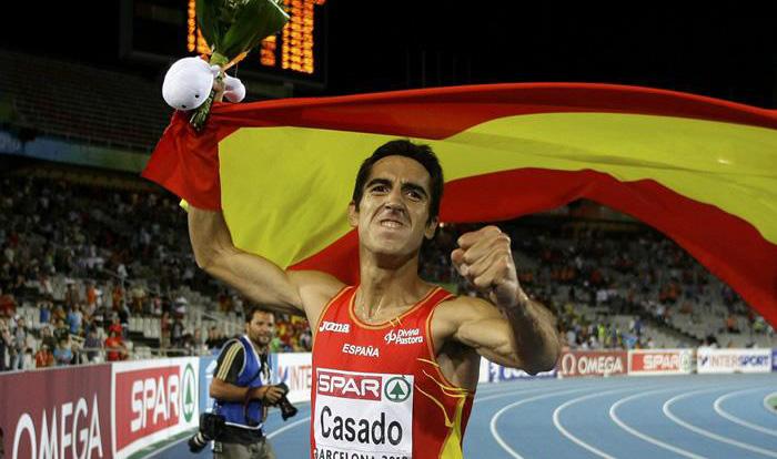 Arturo Casado, campeón de Europa de 1.500 en Barcelona'2010, correrá finalmente su prueba preferida y no los 800.
