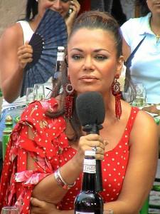 Isi Sayago recorrió las fiestas y ferias de Andalucía.