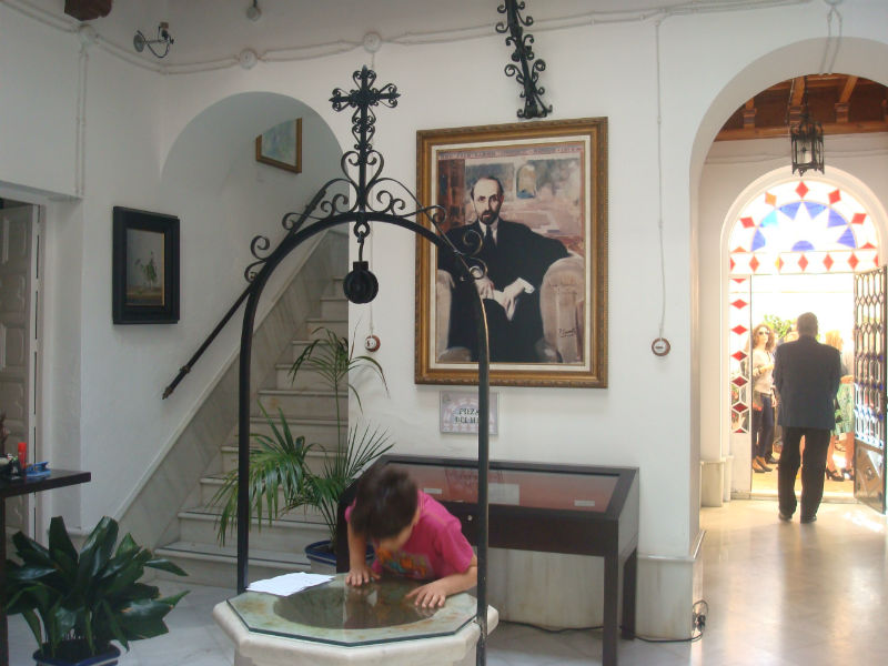 Como novedad, el Premio se ha entregado en la Casa Museo Zenobia-Juan Ramón Jiménez.